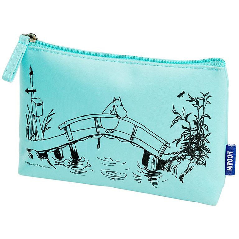 Moomintroll make up pouch by Cailap - The Official Moomin Shop