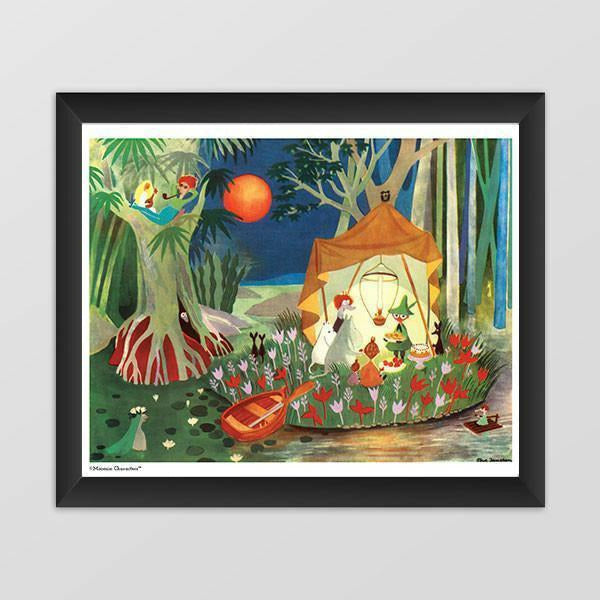 Moomin poster - The Secret Island - The Official Moomin Shop