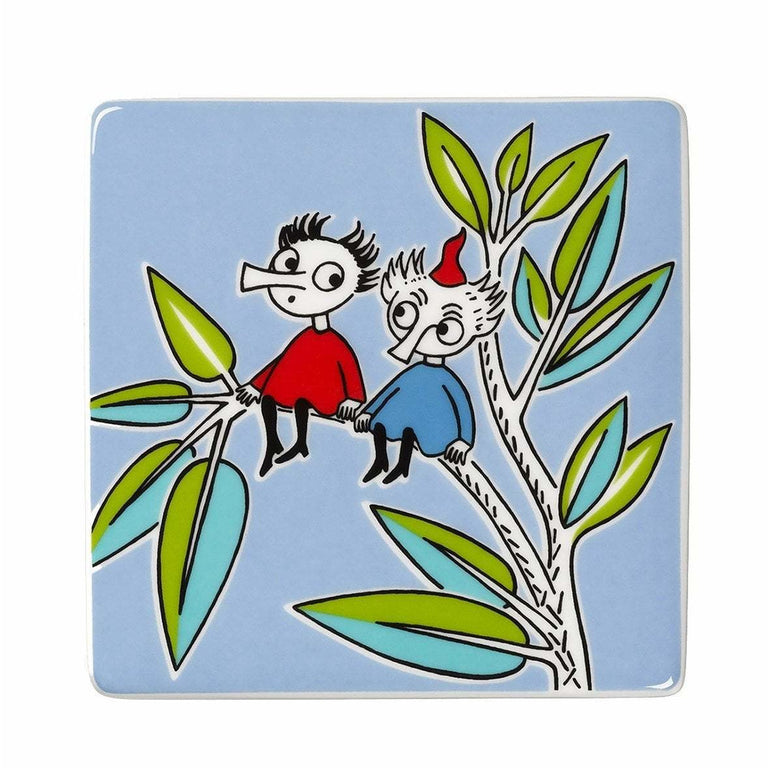 Moomin deco tree Thingumy & Bob by Arabia - The Official Moomin Shop