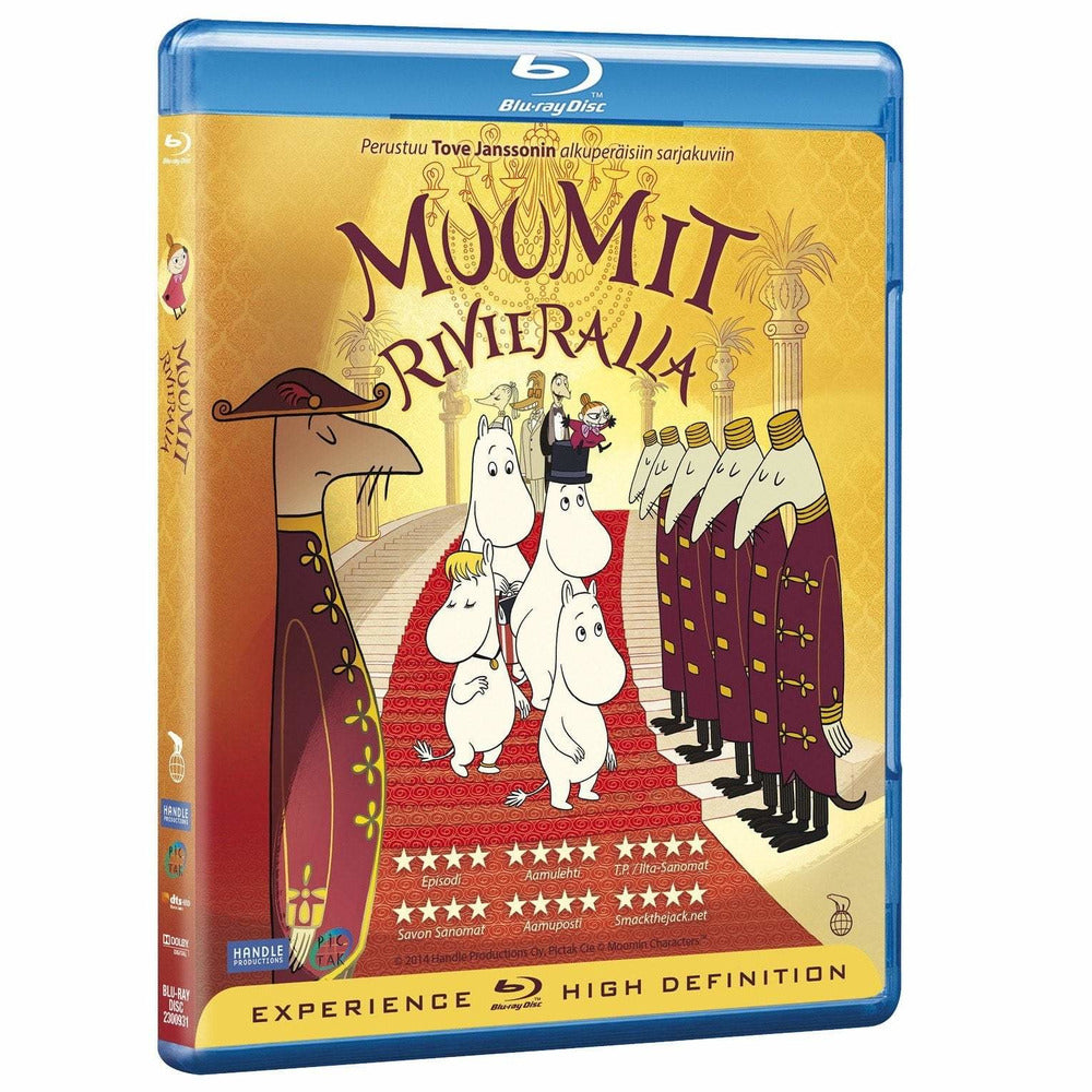 Muumit Rivieralla Blu-ray - Moomins on the Riviera Blu-ray in Finnish - The Official Moomin Shop