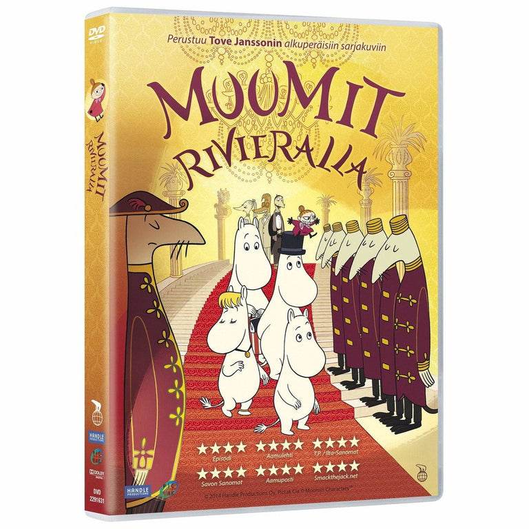 Muumit Rivieralla DVD - Moomins on the Riviera DVD in Finnish - The Official Moomin Shop