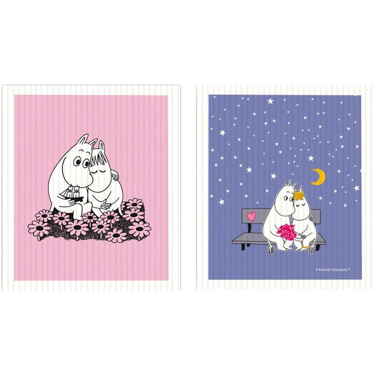Moomin Love dishcloth set - The Official Moomin Shop