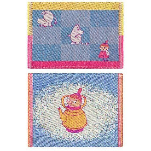 My Coffeepot & Moomin Line dishcloth 2-pack by Ekelund - The Official Moomin Shop
