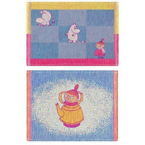 My Coffeepot & Moomin Line dishcloth 2-pack by Ekelund