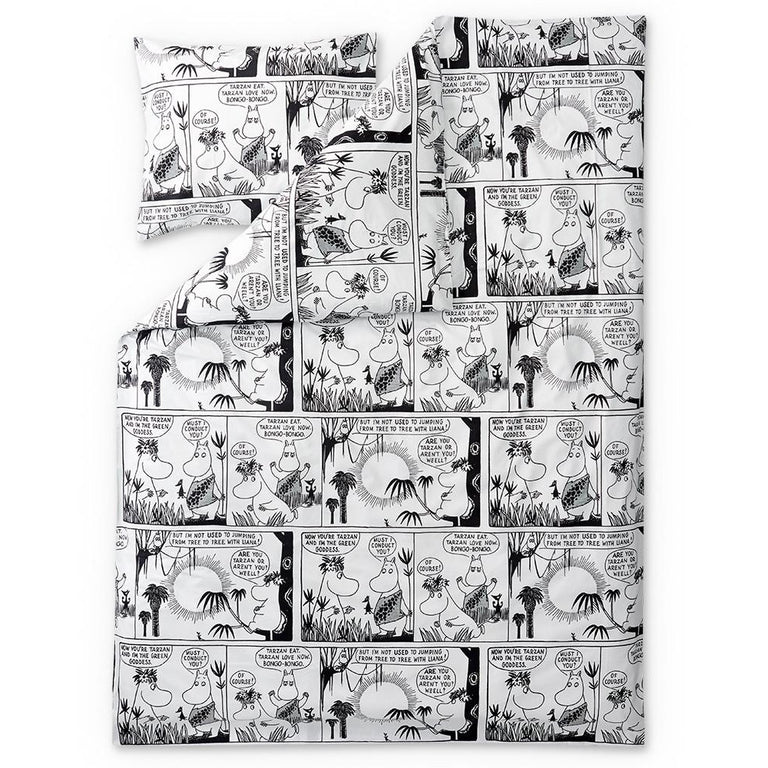Bongo Moomin duvet cover 150 x 210 cm by Finlayson - The Official Moomin Shop