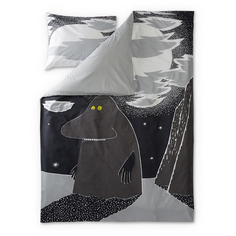 Groke duvet cover 150 x 210 cm by Finlayson - The Official Moomin Shop