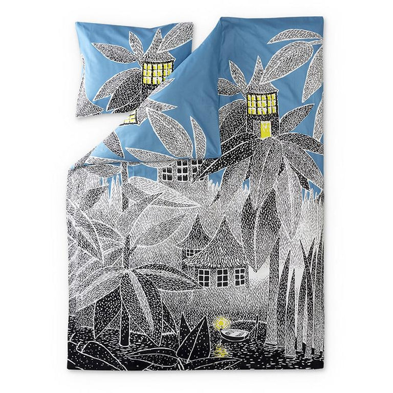 House of Toffle duvet cover 150 x 210 cm by Finlayson - The Official Moomin Shop