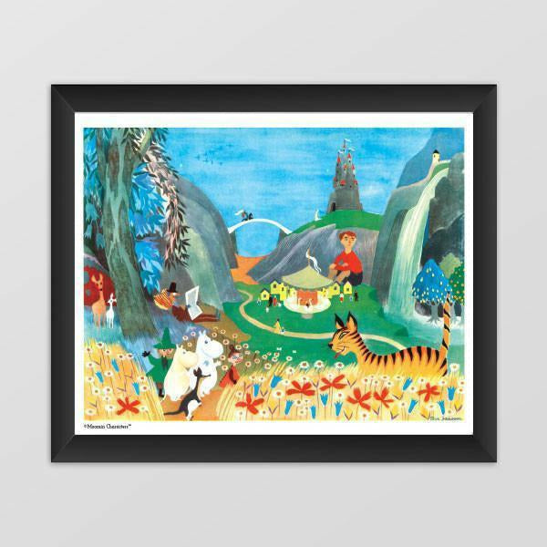 Moomin poster - Carousel Party - The Official Moomin Shop
