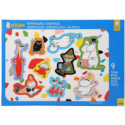 Moomin peg puzzle by Martinex