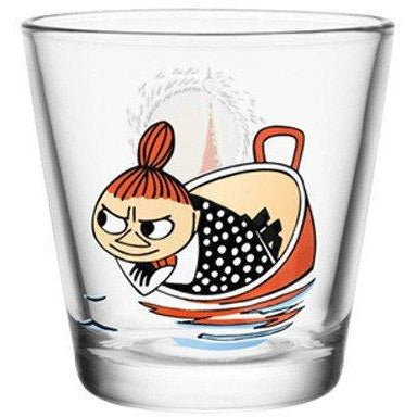 Little My floating 21 cl glass by Iittala - The Official Moomin Shop