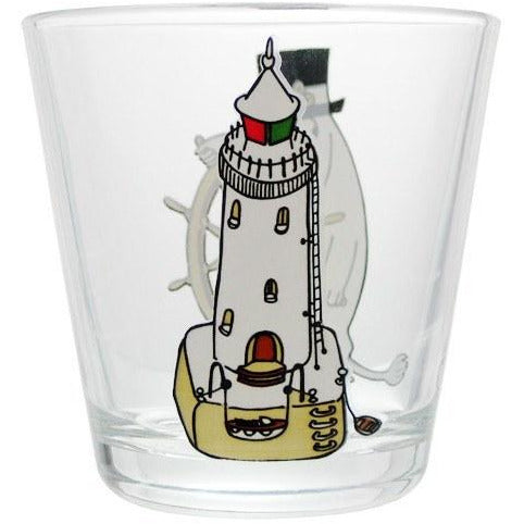 Moominpappa at the helm 21cl glass by Iittala - The Official Moomin Shop