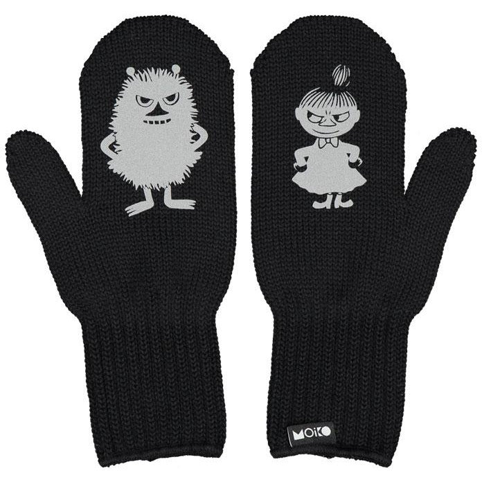Moomin x Moiko - Little My & Stinky Merino wool mittens - The Official Moomin Shop