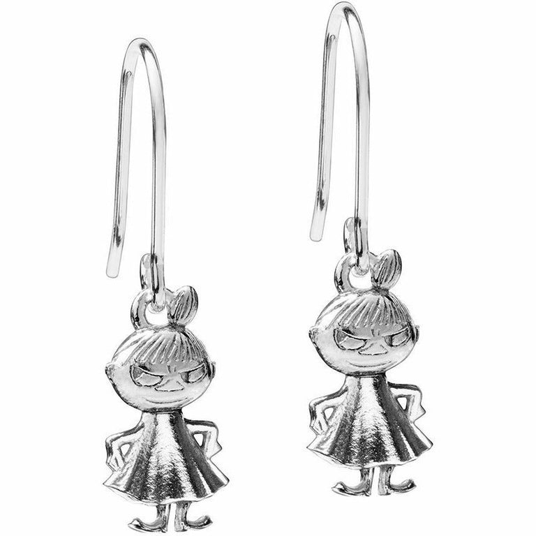 Little My sterling silver earrings by Saurum - The Official Moomin Shop