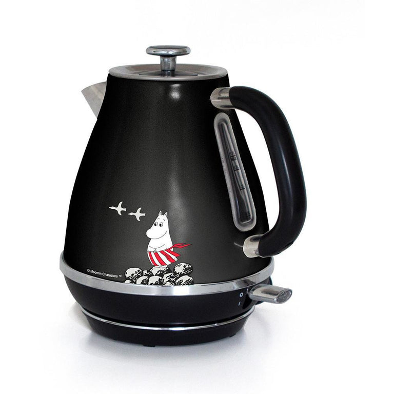 Moominmamma kettle 1,7 l black - The Official Moomin Shop
