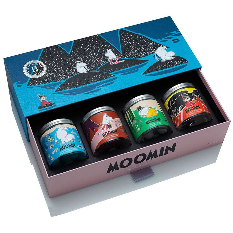 Moomin liquorice collectors' box by Haupt Lakrits - The Official Moomin Shop