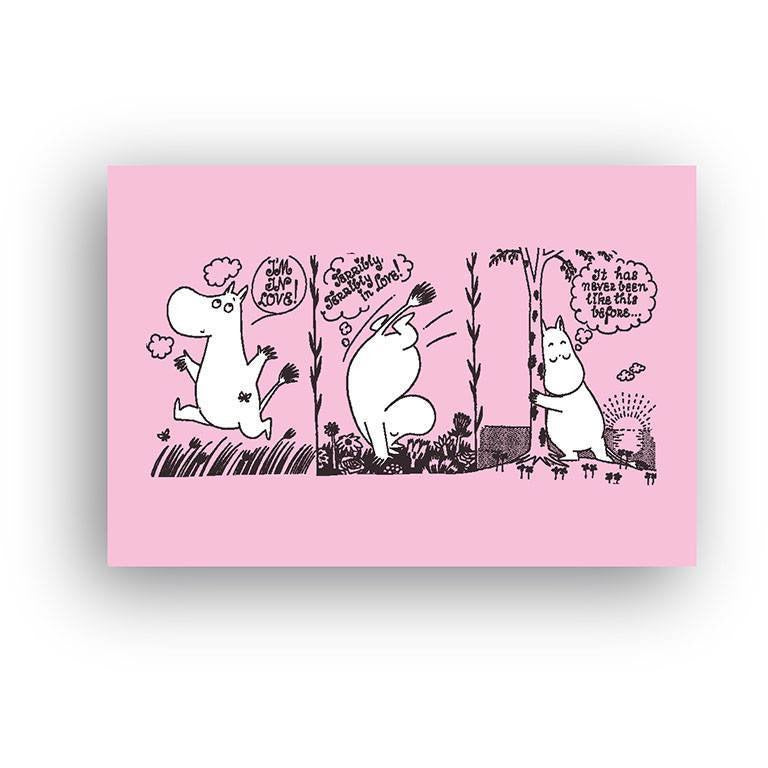 Moomin Love Strip magnet - The Official Moomin Shop