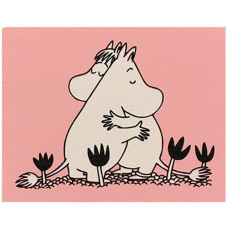 Moomin Love wooden magnet by Aprilmai - The Official Moomin Shop