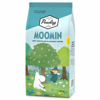 Moomin Coffee mint chocolate Spring by Paulig