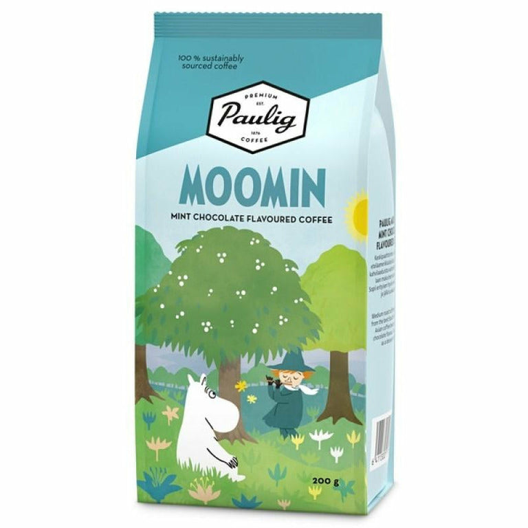 Moomin Coffee mint chocolate Spring by Paulig - The Official Moomin Shop