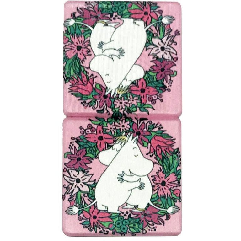 "Moomin ""Love"" pocket Mirror - Aurora Decorari - The Official Moomin Shop"