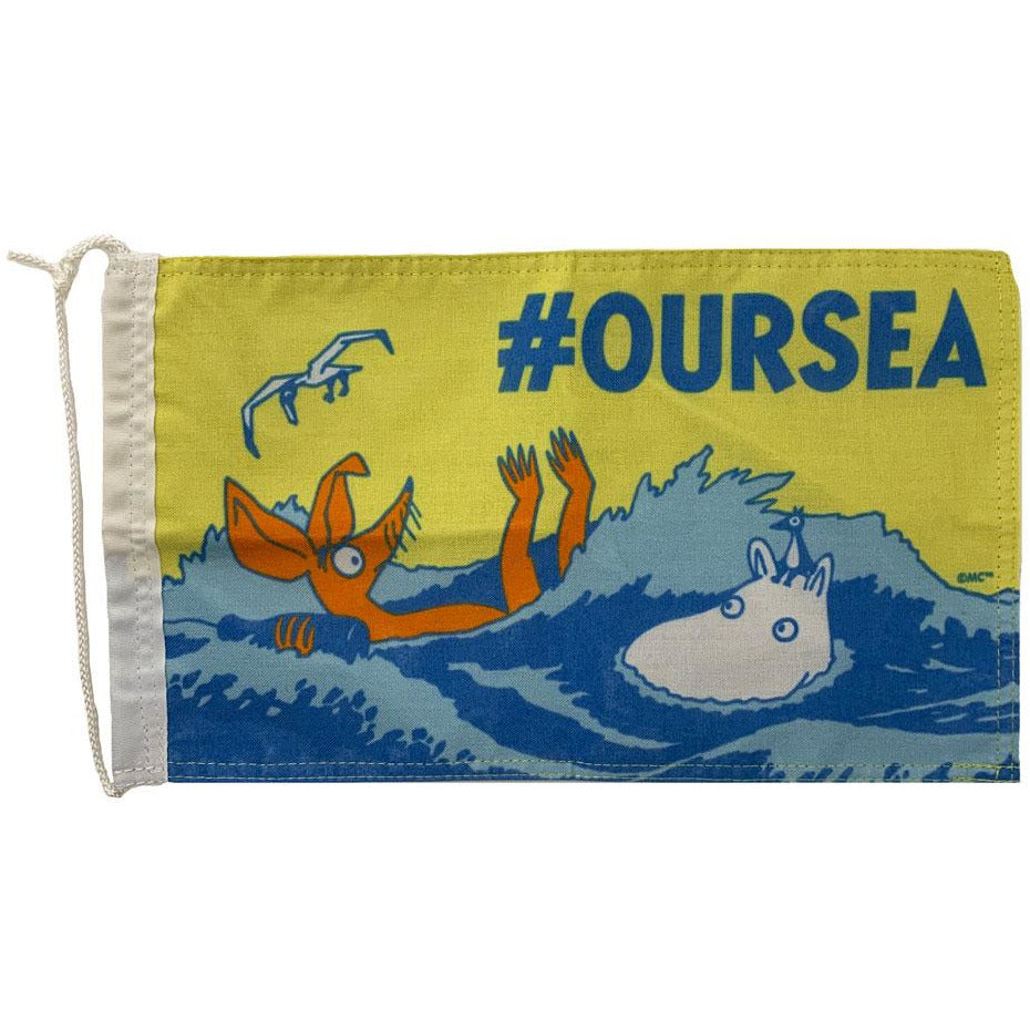 #OURSEA Moomin Boat Pennant - Docover - The Official Moomin Shop