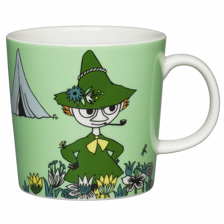 Green Snufkin Mug - Arabia - The Official Moomin Shop