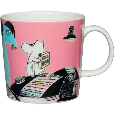 Håll Sverige Rent - Keep Waters Clean Moomin mug by Arabia