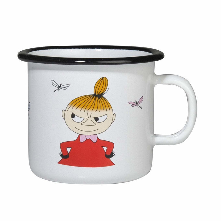 Little My enamel mug 2,5 dl - The Official Moomin Shop