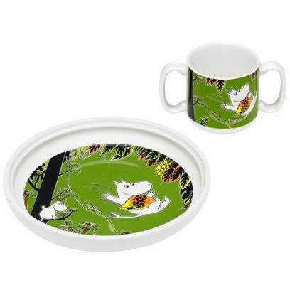Moomin Jungle tableware set for children by Arabia - The Official Moomin Shop