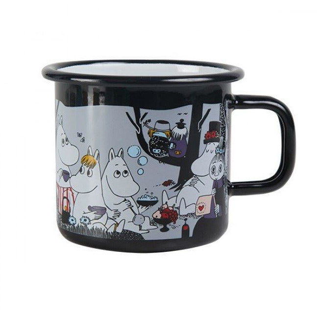 Picnic enamel mug 3,7 dl - The Official Moomin Shop