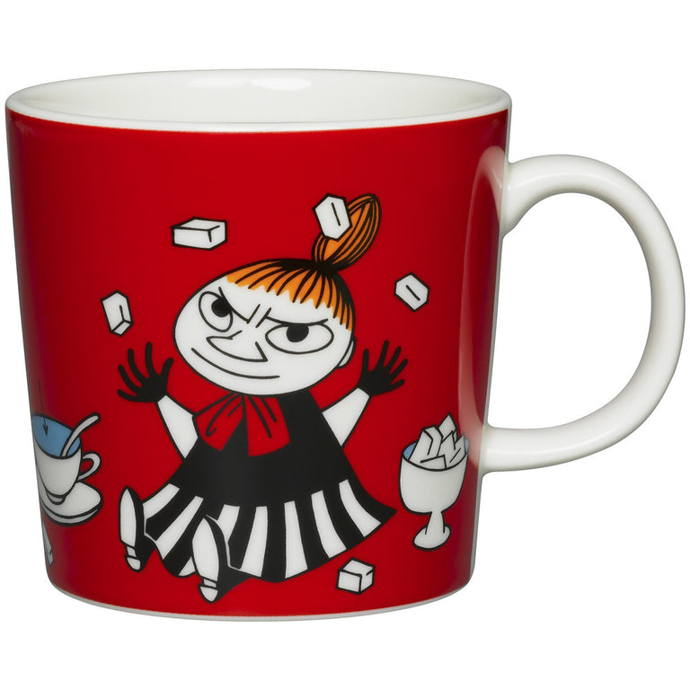 Red Little My mug by Arabia - The Official Moomin Shop