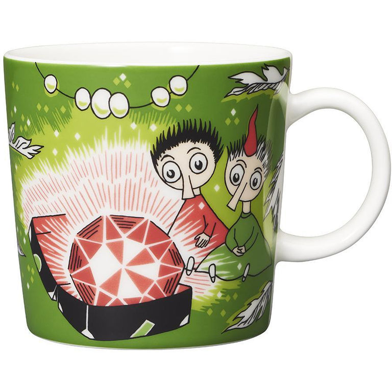 Thingumy & Bob & King's Ruby mug by Arabia - The Official Moomin Shop