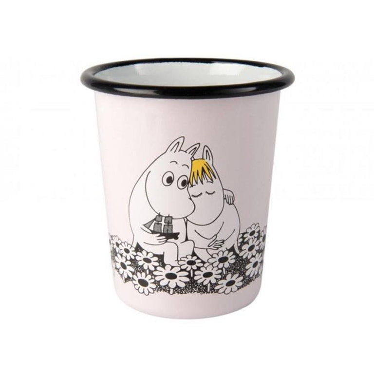 Together forever enamel cup 4 dl - The Official Moomin Shop