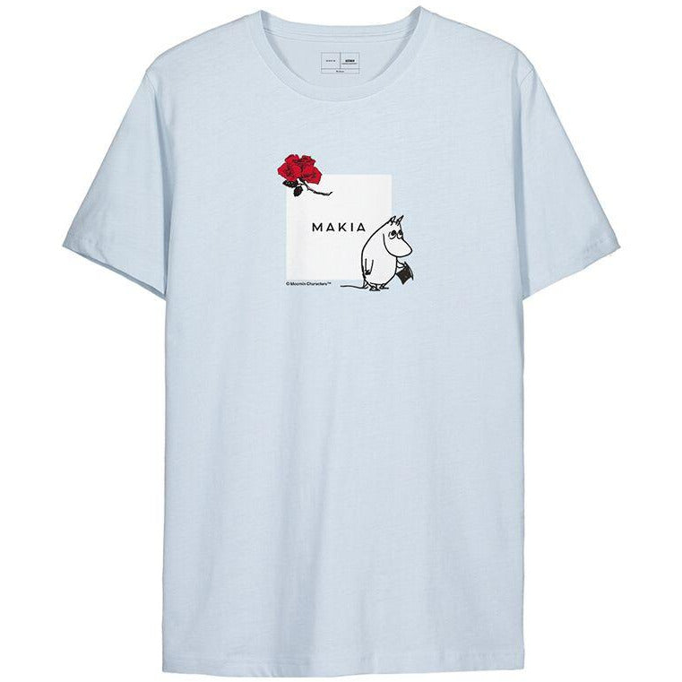 Sori T-Shirt Blue - Moomin x Makia - The Official Moomin Shop