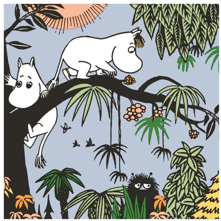 Jungle Moomin napkins - Suomen Kerta - The Official Moomin Shop
