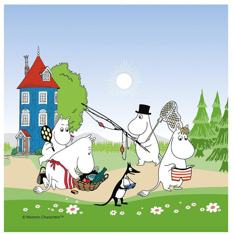 Moomin Summer 2018 napkins - The Official Moomin Shop