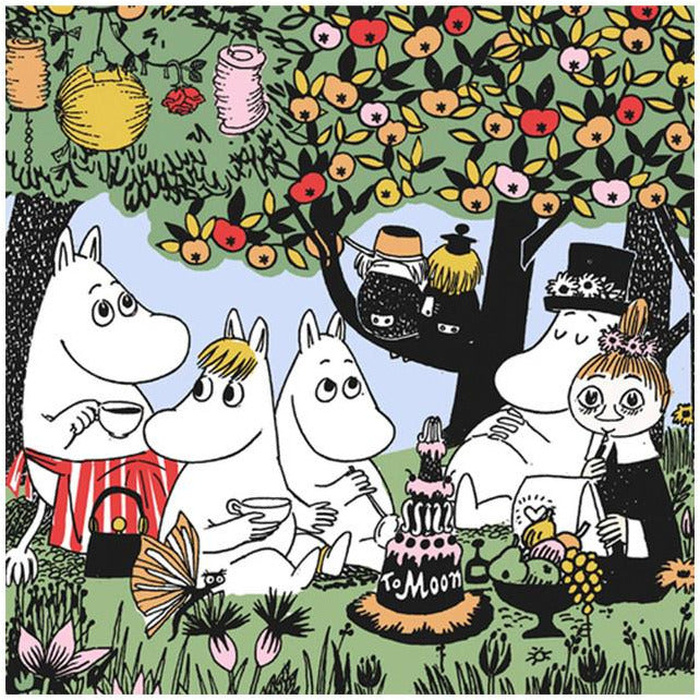 Party Moomin napkins by Suomen Kerta - The Official Moomin Shop