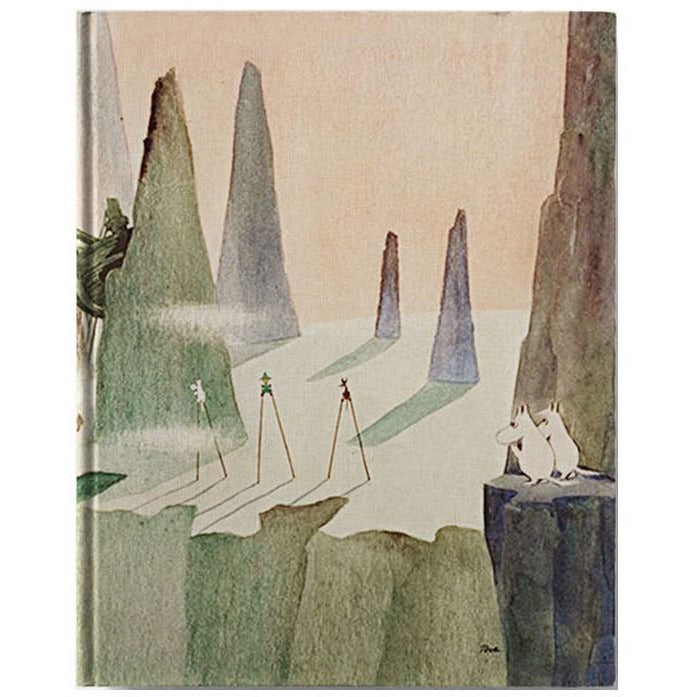 Hard cover notebook Comet in Moominland - The Official Moomin Shop