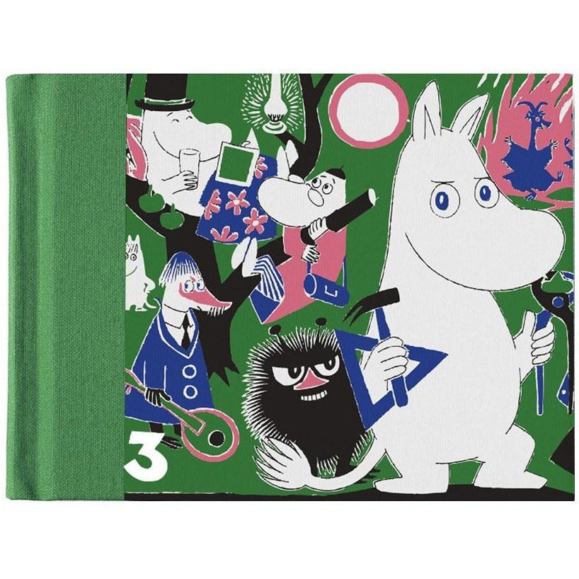 Hard cover notebook Comic #3 - The Official Moomin Shop