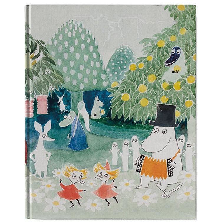 "Moomin ""Finn Family Moomintroll"" Hard cover Notebook - Putinki - The Official Moomin Shop"