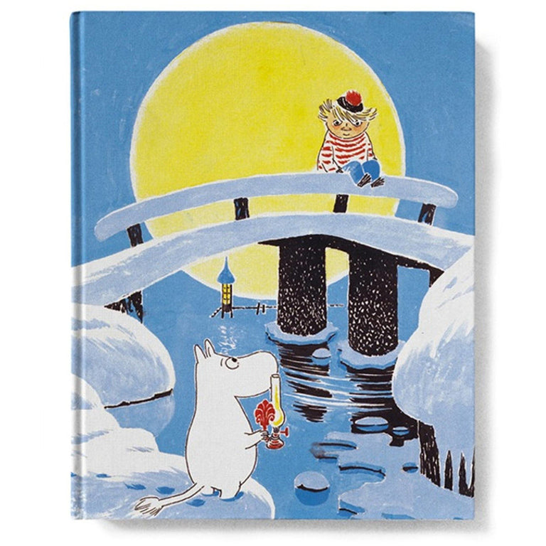 Moominland Midwinter Hard cover notebook - Putinki - The Official Moomin Shop