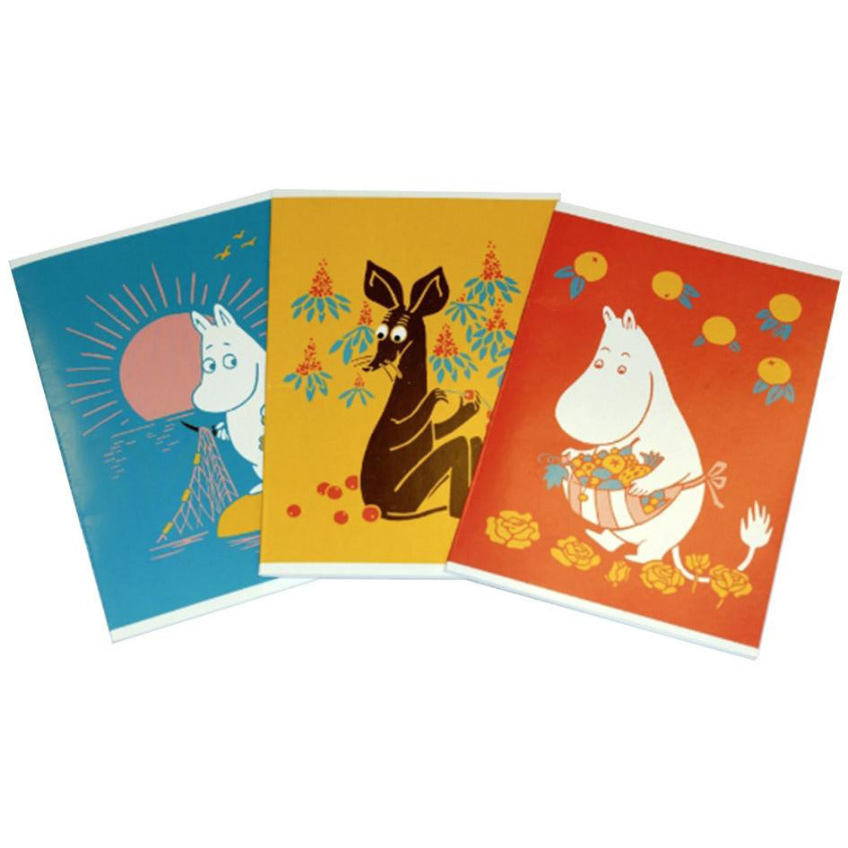 Moomin Notebook 3-pack - Anglo Nordic - The Official Moomin Shop