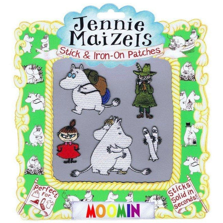 Moomin Stick & Iron-on Patches by Jennie Maizels - The Official Moomin Shop