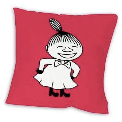 Light-red Little My pillow case by Star Editions - The Official Moomin Shop