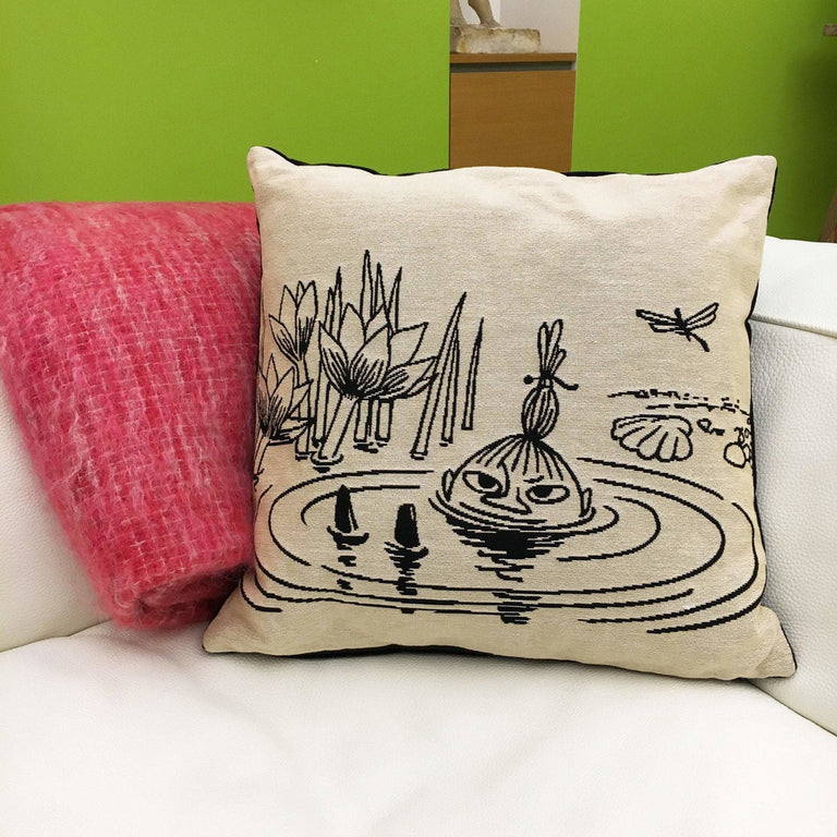 Little My cushion cover by Aurora Decorari - The Official Moomin Shop