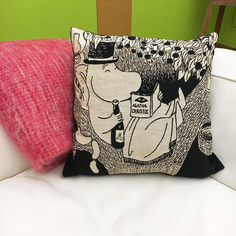 Moominpappa in tree Cushion Cover - Aurora Decorari - The Official Moomin Shop