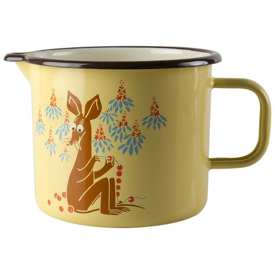 Vintage Sniff enamel pitcher 1,3 l - The Official Moomin Shop