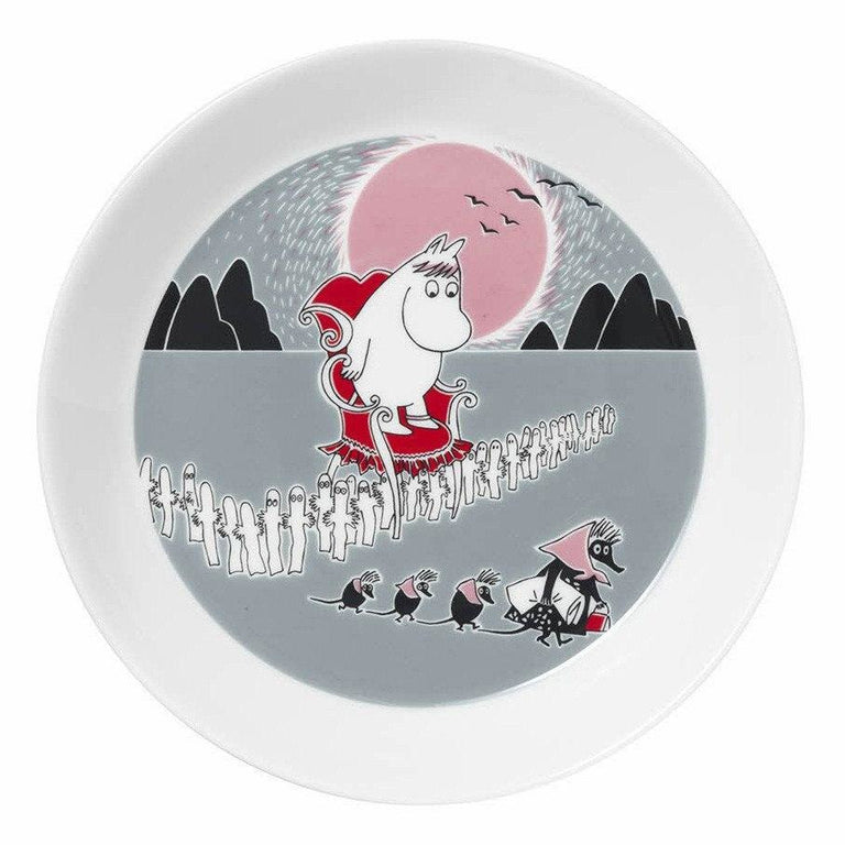Moomin Adventure Move plate by Arabia - The Official Moomin Shop