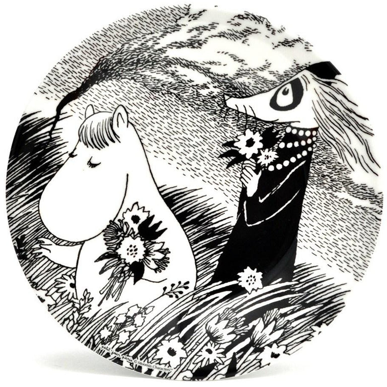 Moomin beautiful day plate - The Official Moomin Shop