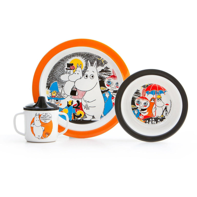 Moomin comics - tableware set - The Official Moomin Shop